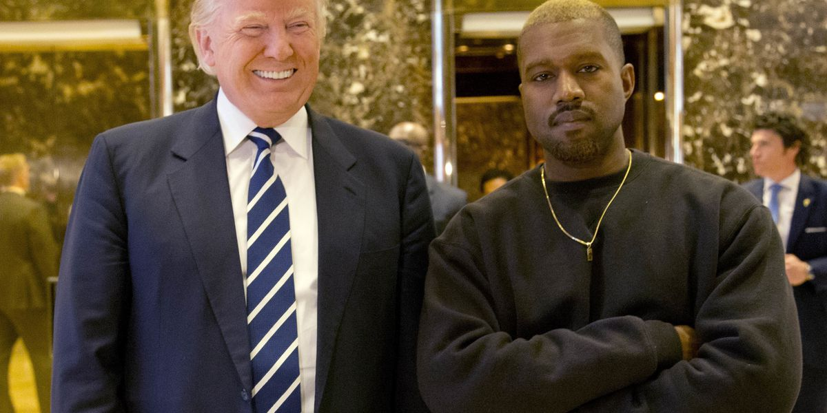 Kanye West & Kid Rock Attend Trump's Music Modernization Act Signing