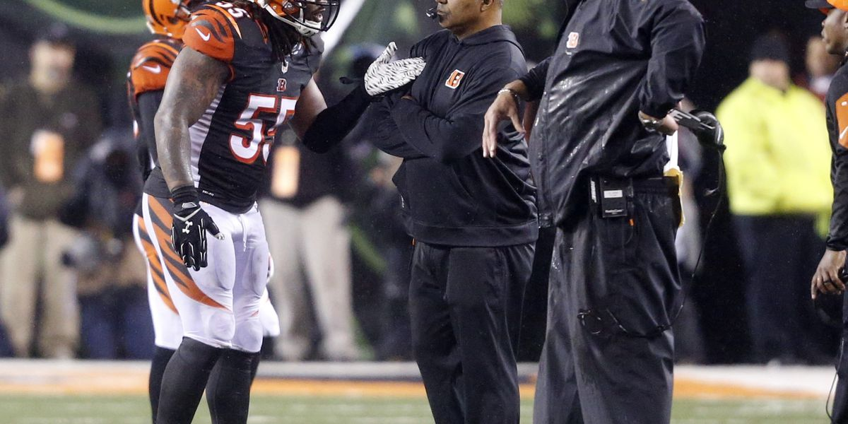 Bengals release Vontaze Burfict, source says