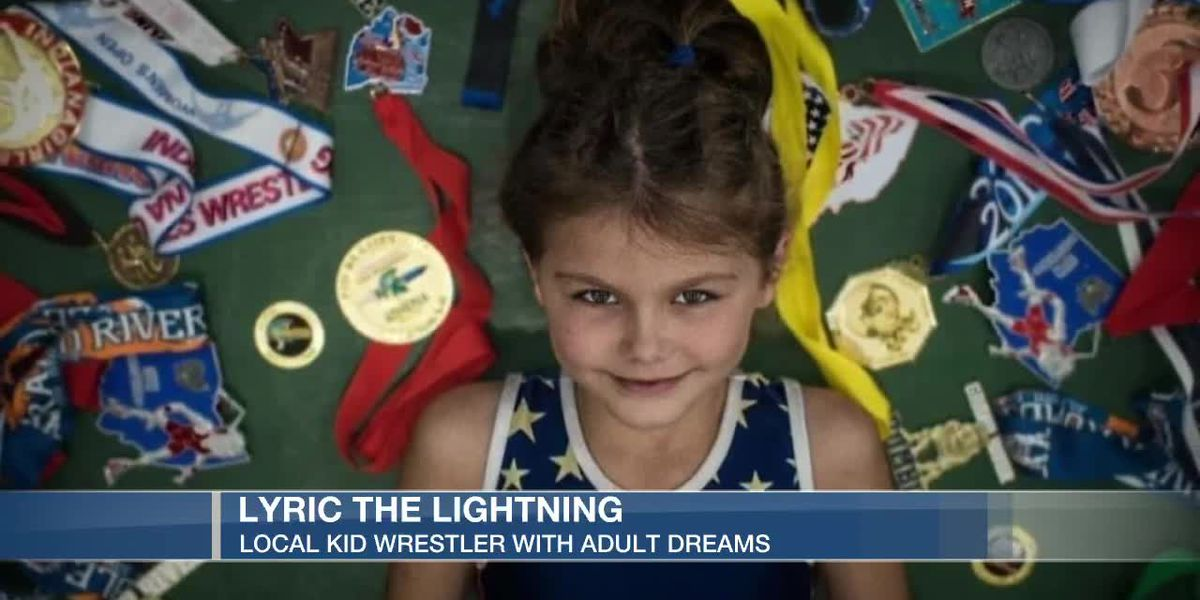 10-year-old female wrestler aims for 2028 Olympics, coach says