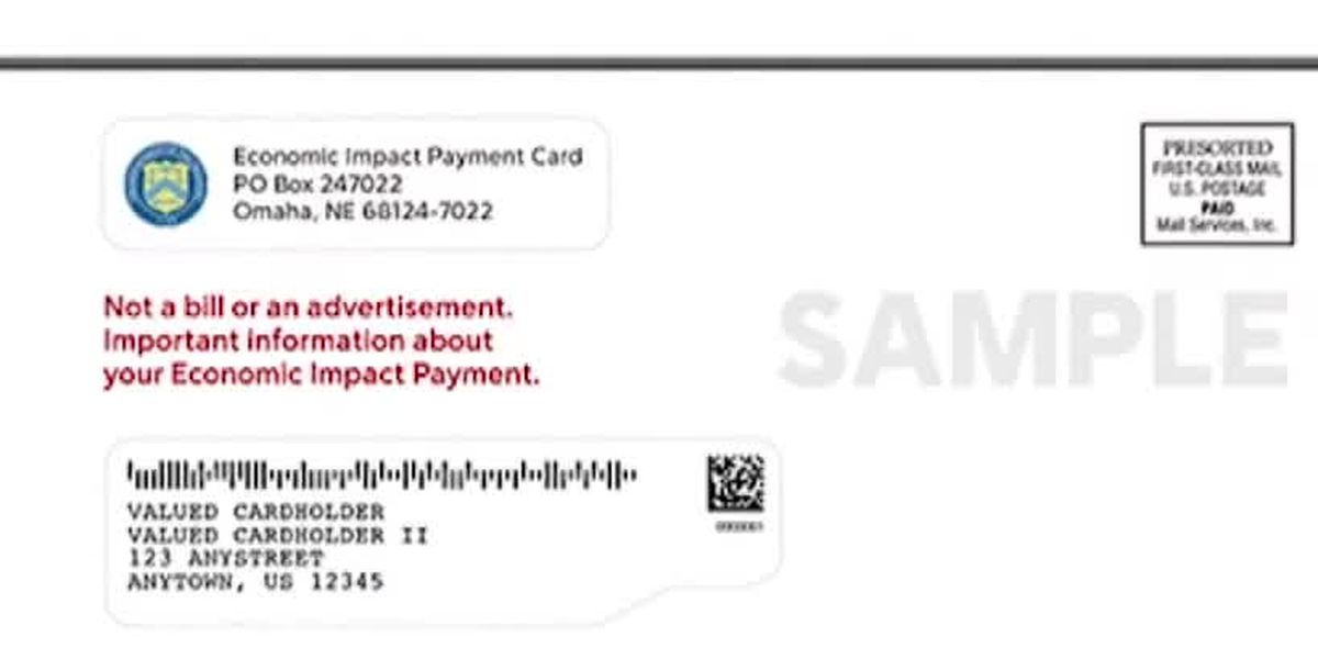 Check before throwing away: Some stimulus payments mailed out mistaken for junk