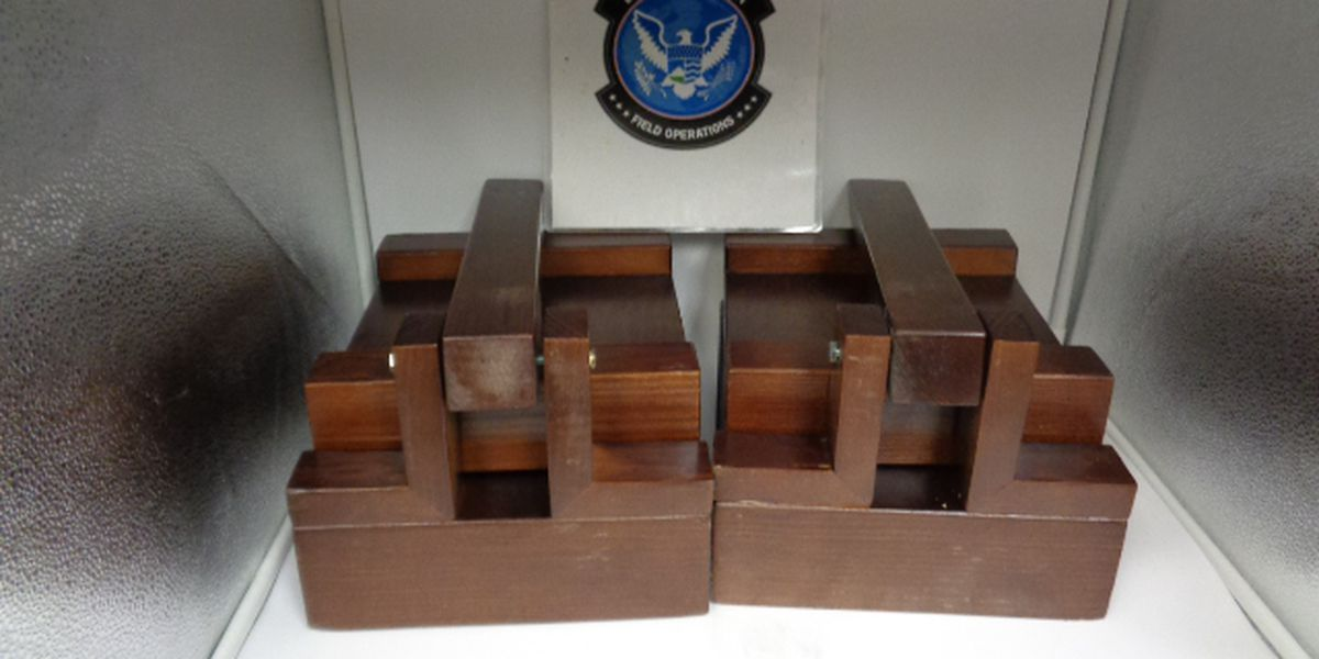 CBP seizes shipment from Mexico containing meth