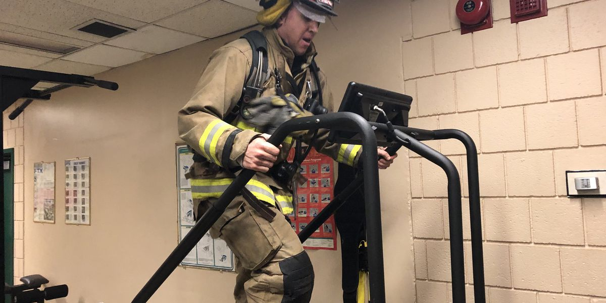Area firefighters prepare to climb hundreds of stairs for good cause
