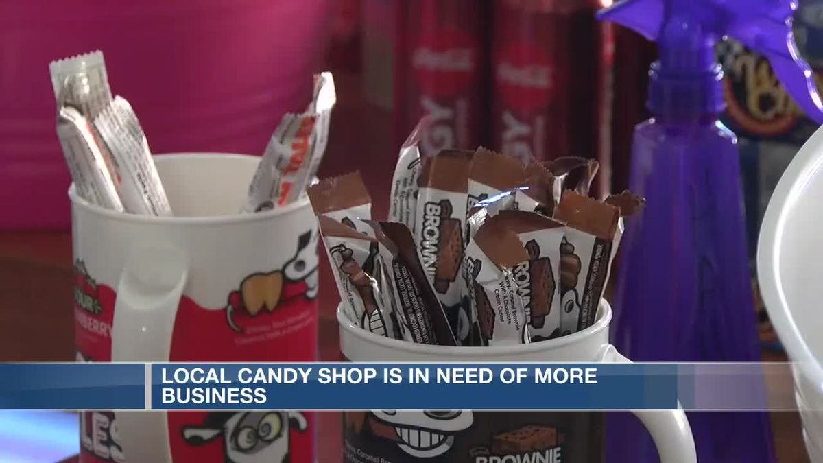 Local candy shop is in need of more business