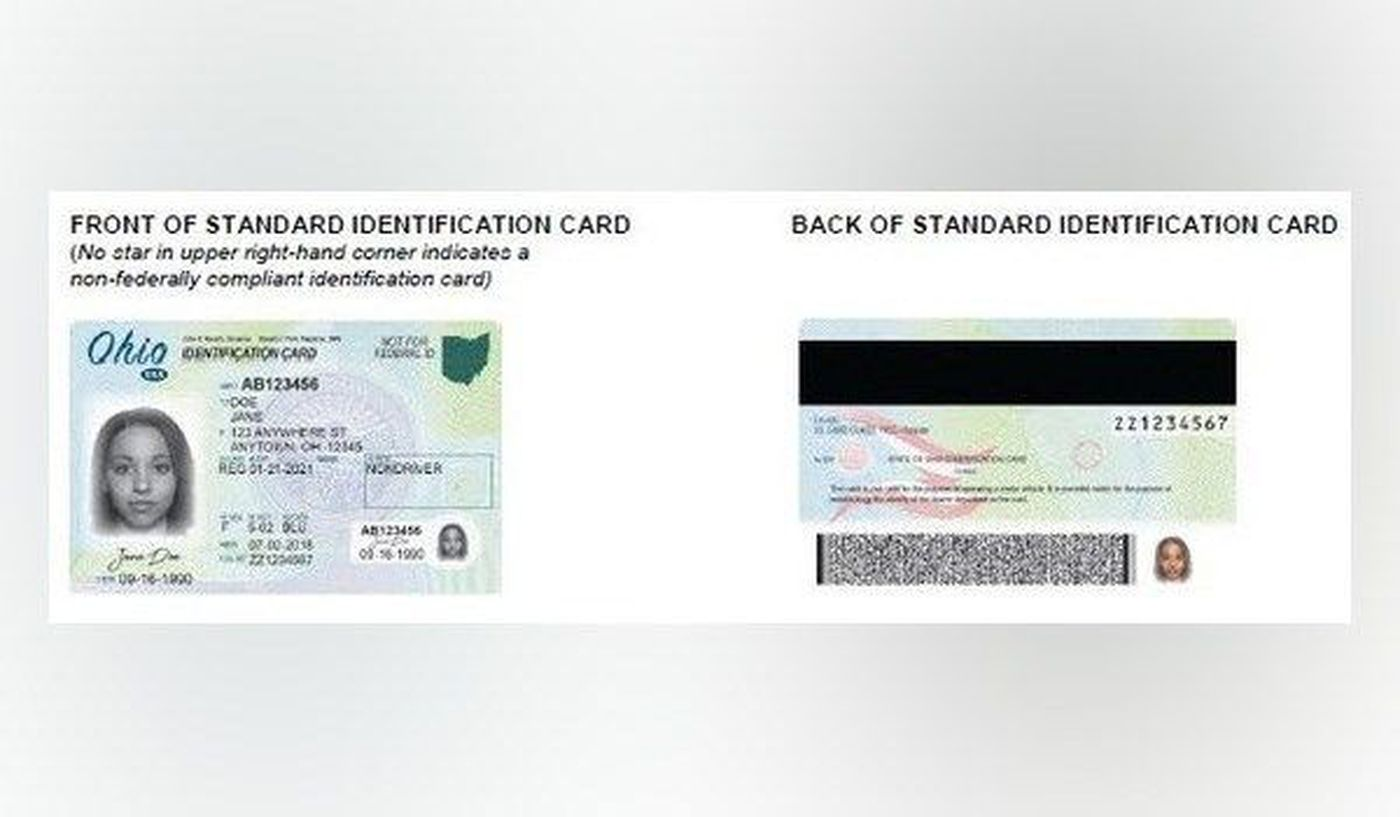 New Ohio Driver License and Identification cards (Credit: Ohio BMV)