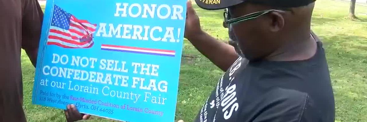Controversy heating up over sale of Confederate flag at Lorain County Fair