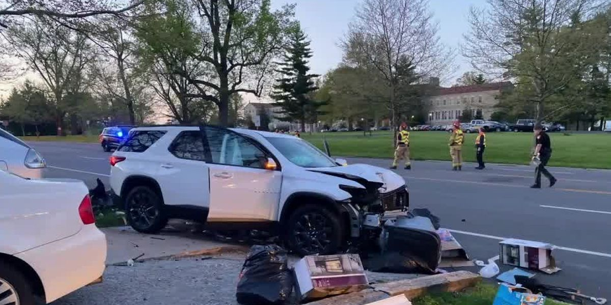 VIDEO: Telephone pole saves Tri-State man from suspected OVI crash