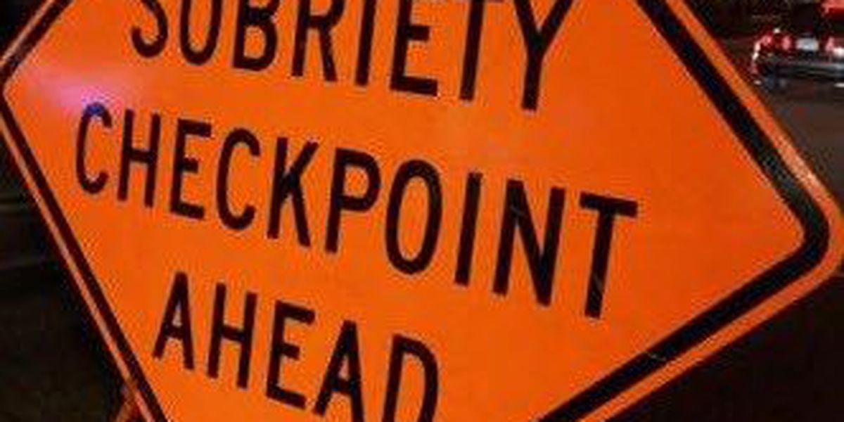 OVI checkpoints in Tri-State Friday night