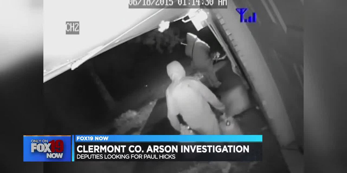 Man arrested in 'elaborate' arson scheme caught on camera