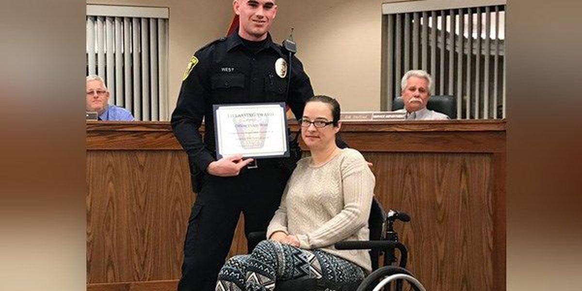 Officers save woman after more than 24-hours in creek