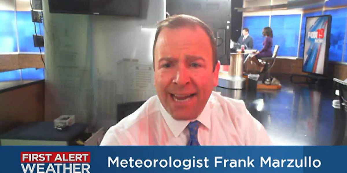 Frank's Monday Forecast Update