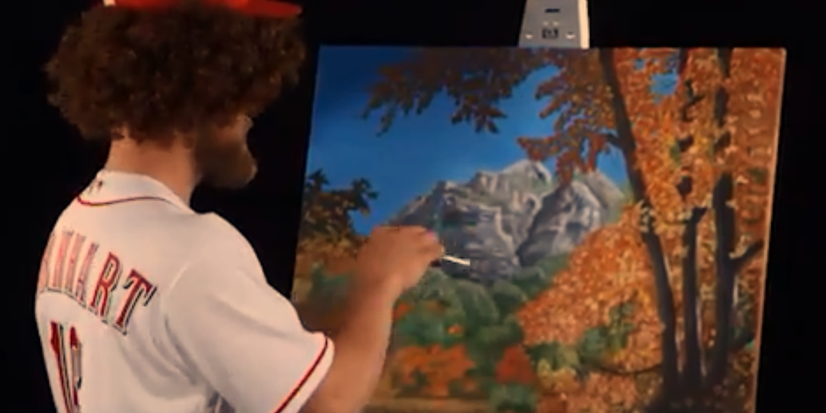 Bask in the glory of the (100 percent real) Reds Bob Ross ticket package