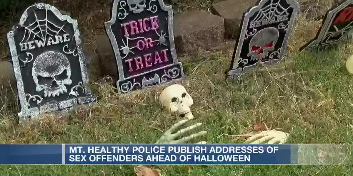 Police publish addresses of sex offenders ahead of Halloween