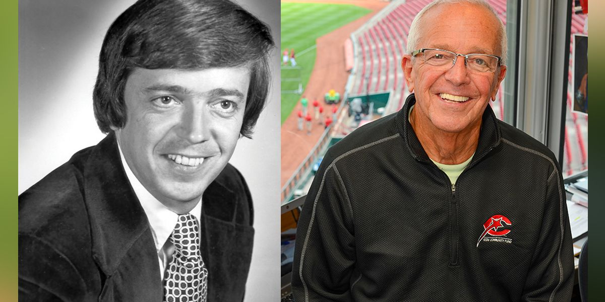 Voice of the Reds Marty Brennaman gifted piece of Wrigley Field in honor of final road game