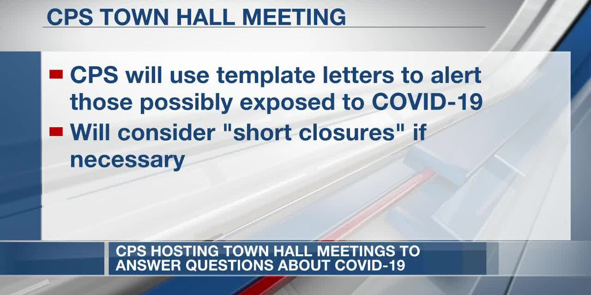 CPS hosts town hall meeting to answer questions about COVID-19