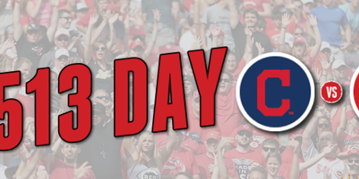 Reds offer discounted tickets in honor of 513 Day