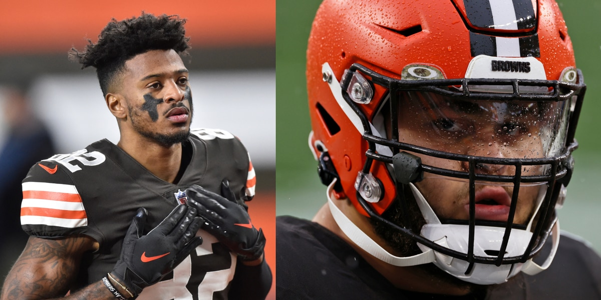 Browns WR Rashard Higgins and OT Jedrick Wills Jr. cited for drag racing by Westlake Police