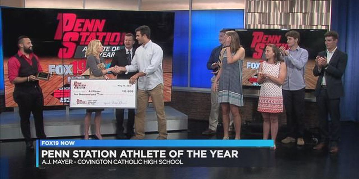 Penn Station Athlete of the Year: A.J. Mayer of Covington Catholic HS