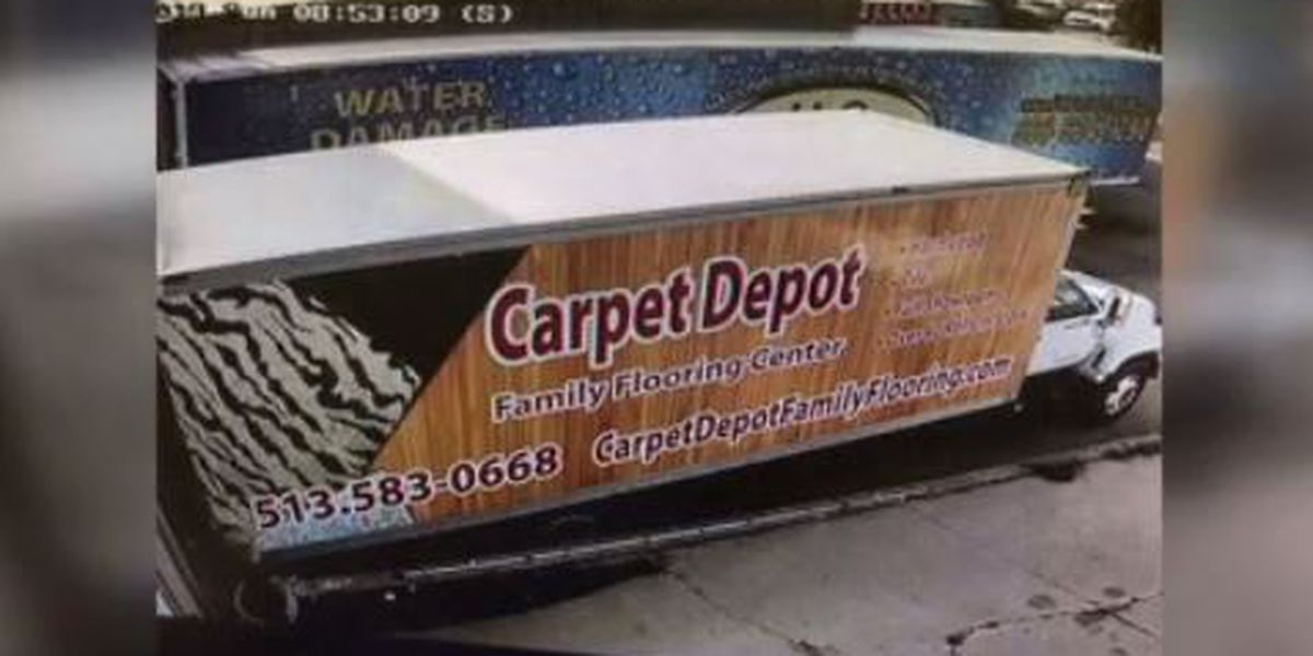 Police looking for suspects who stole truck with $25K worth of carpet inside