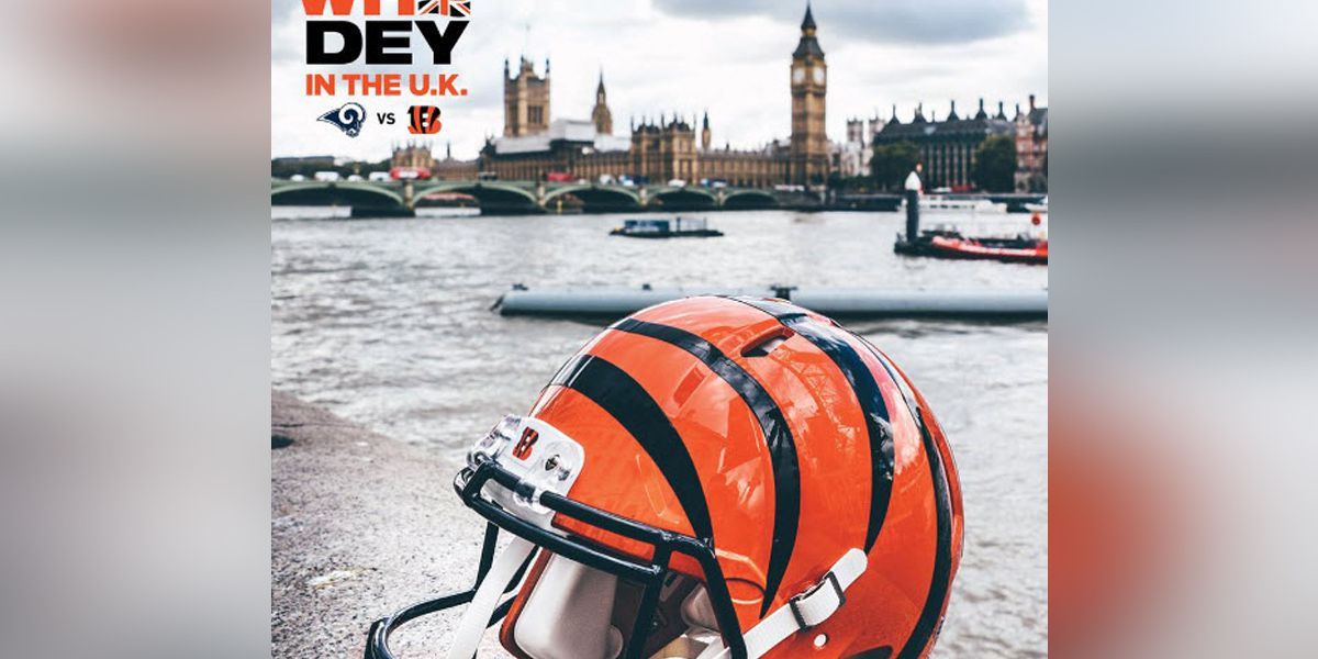 Who Dey in the UK: Bengals announce schedule for London game
