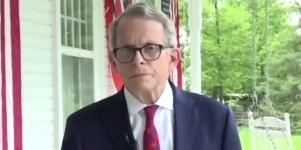 DeWine awaits result of second COVID test, describes possible symptom