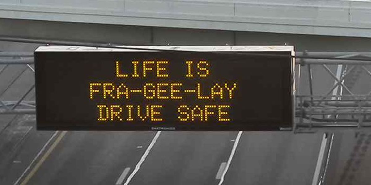 ODOT to promote road safety with cheerful holiday messages on over 130 highway signs