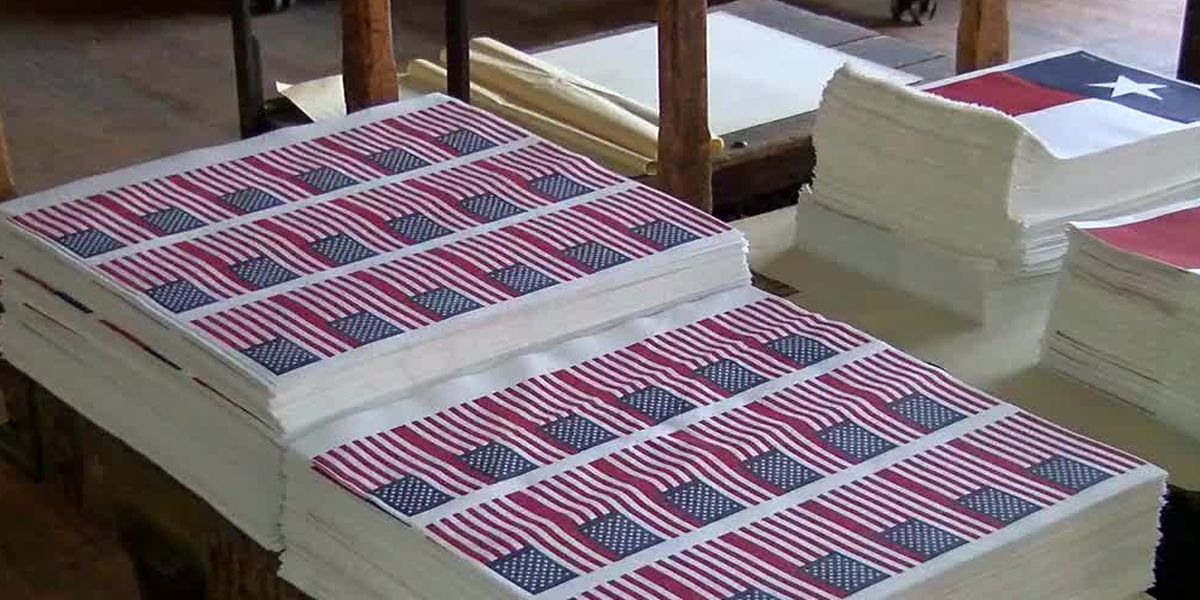Tri-State flag company making up for lost time from pandemic shutdown
