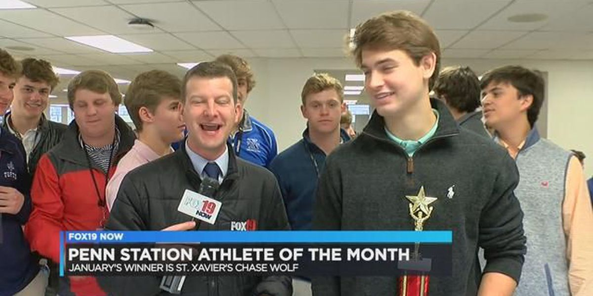 Penn Station Athlete of January: Chase Wolf of St. X