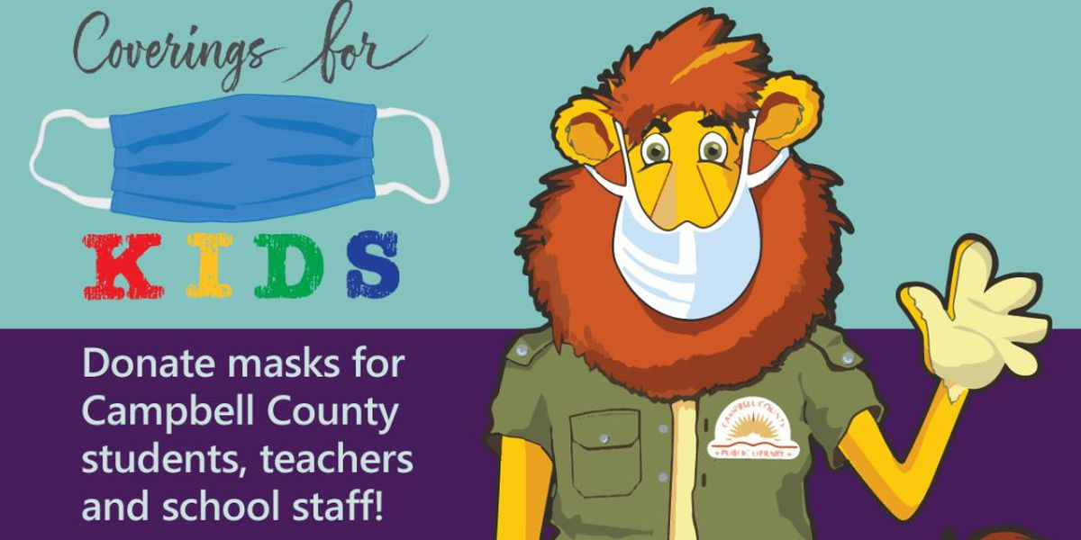 Campbell County Public Library collecting mask donations for schools