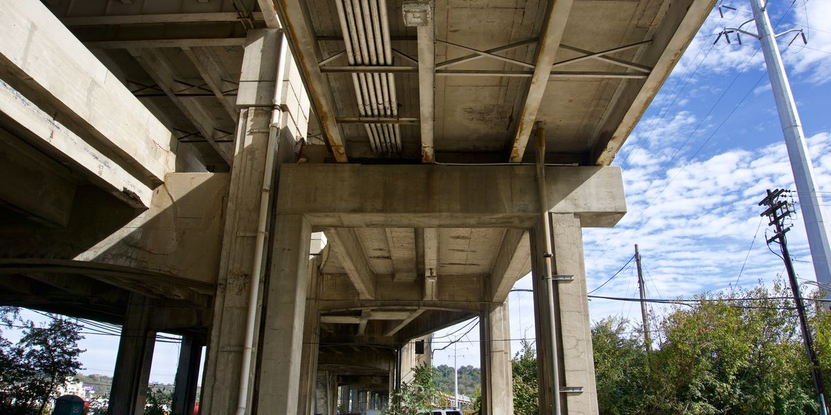 City to consider $2 million netting beneath Western Hills Viaduct