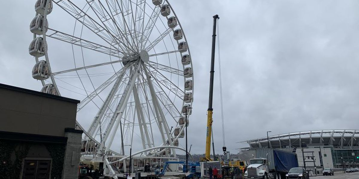 SkyStar Wheel at The Banks moving for new, larger wheel