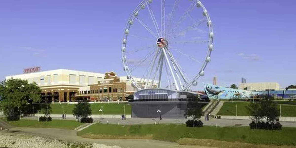 Newport Skywheel design rejected, new plan submitted