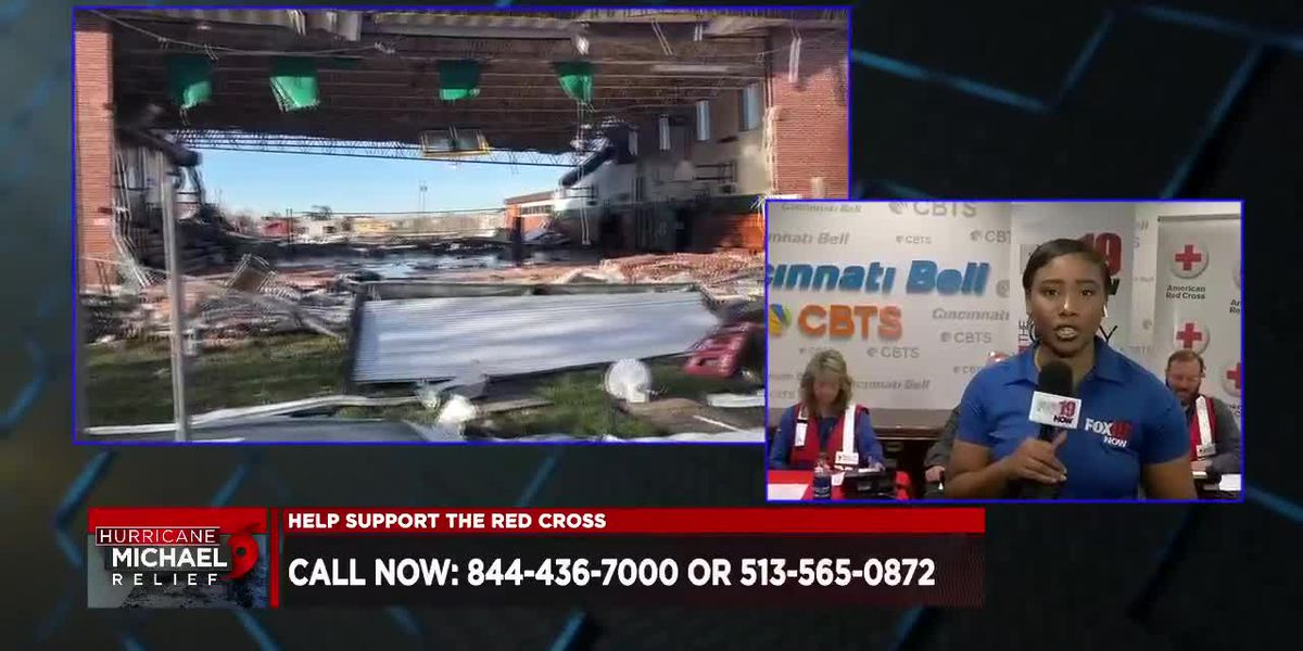 FOX19 NOW holds Hurricane Michael Telethon with Cincinnati Bell and American Red Cross