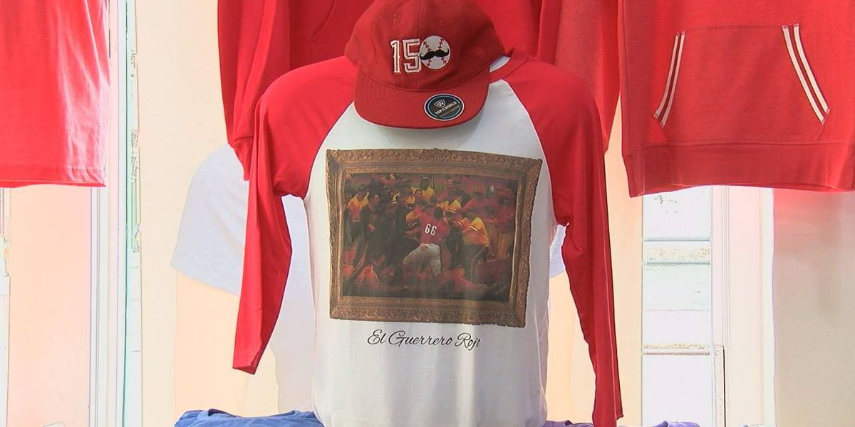 Yes, the Puig photo from the Reds/Pirates brawl has been made into a T-shirt