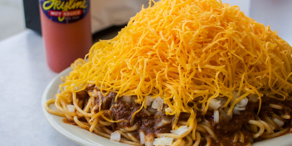 Skyline Chili adding more cheese for free