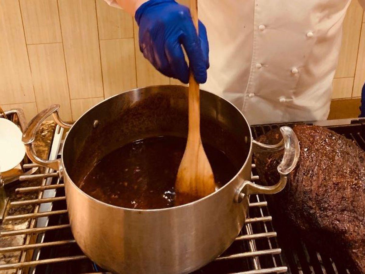 Director of Culinary at Hard Rock Cincinnati creates a Bourbon and Brown Sugar Barbecue Sauce