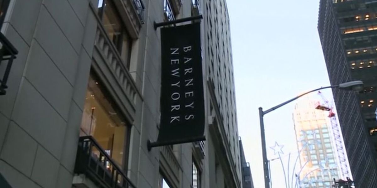 Barneys seeks bankruptcy protection, closes most stores