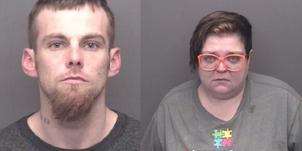 'He's acting like a zombie': Couple arrested high on K2 with child in car, police say