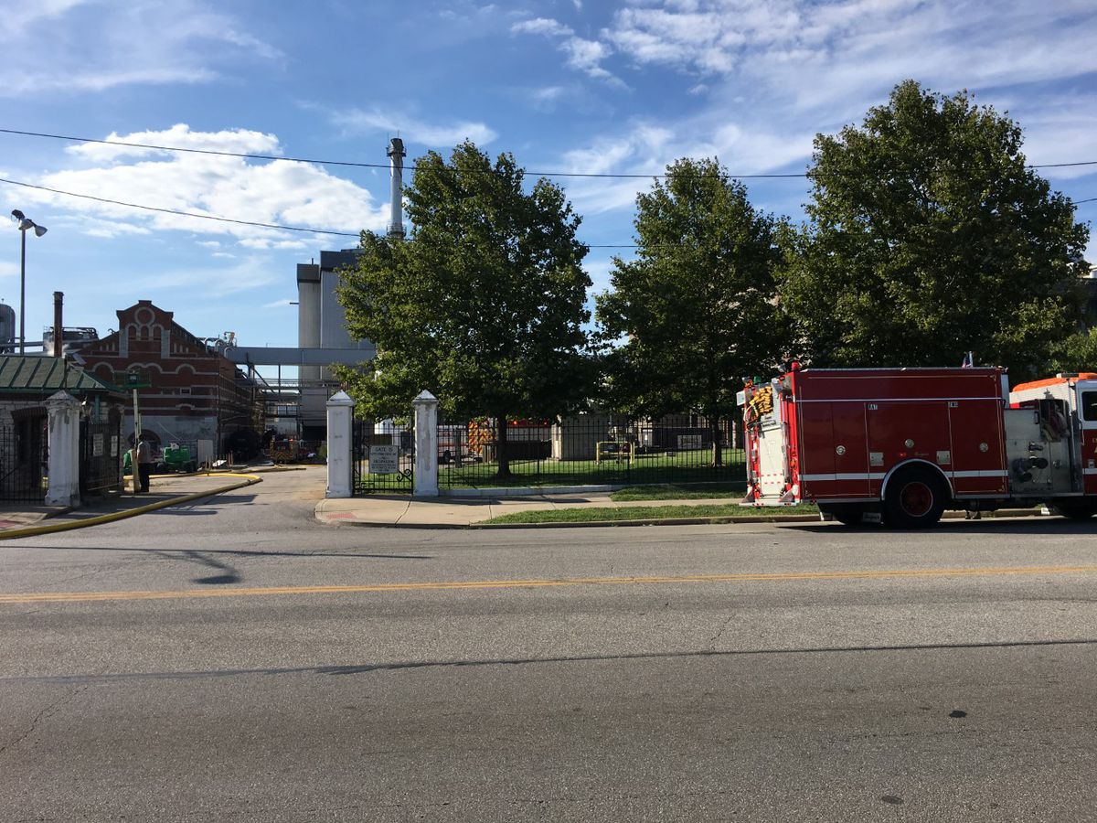 Fire crews respond to St. Bernard Soap Company