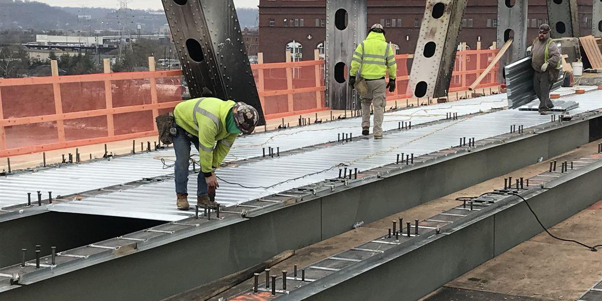 Brent Spence Bridge repairs halfway complete