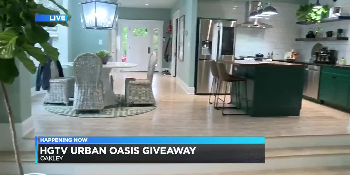 Take a tour of the HGTV 'Urban Oasis giveaway' home in Oakley
