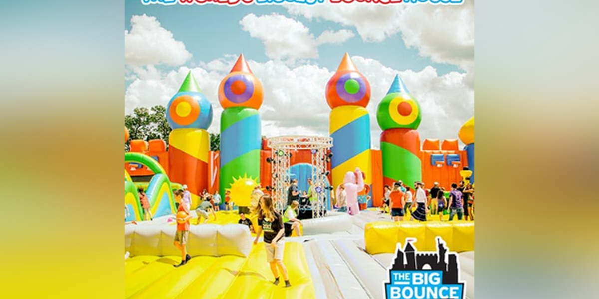 Giant bounce house for all ages coming to Ohio
