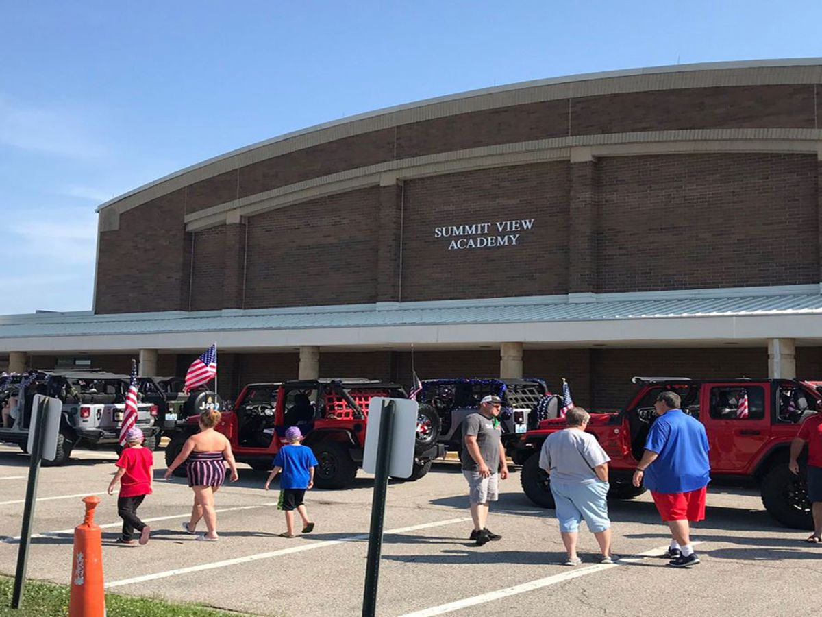Socially distant Fourth of July festitivies in Kenton County