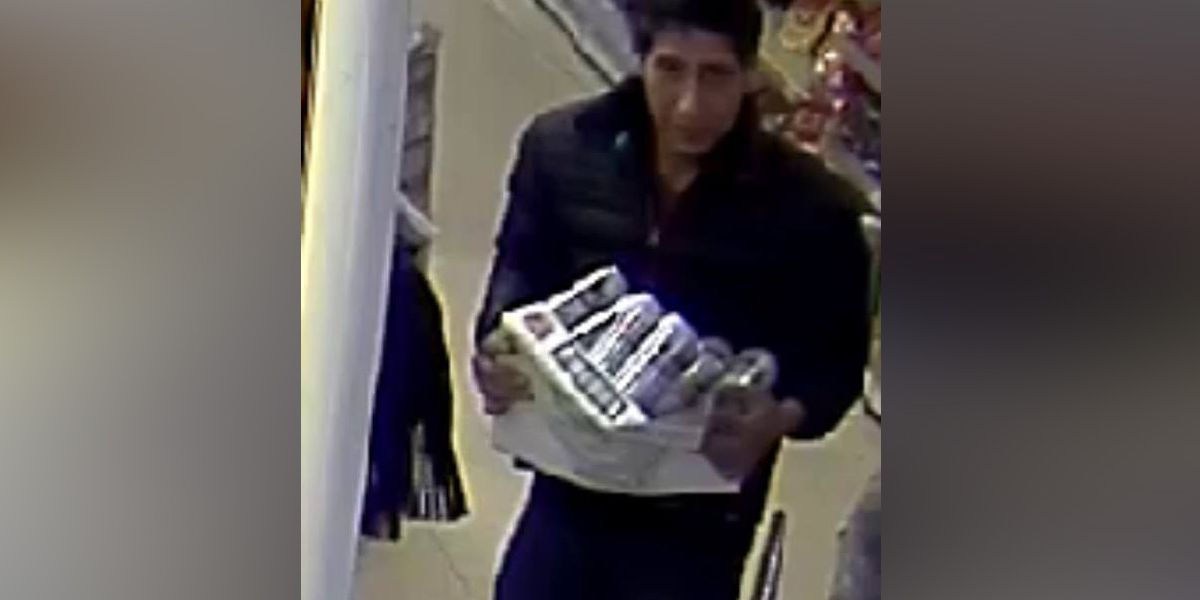 He's not their lobster: Internet has fun with Ross Geller lookalike thief