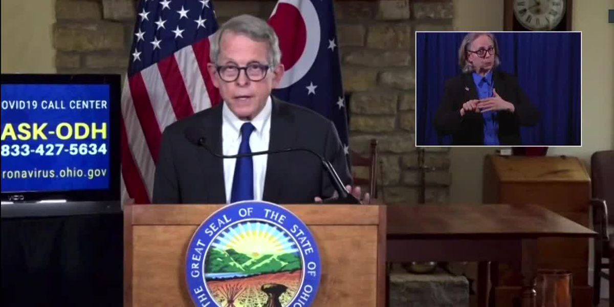 Gov. DeWine gives update on COVID-19 in Ohio