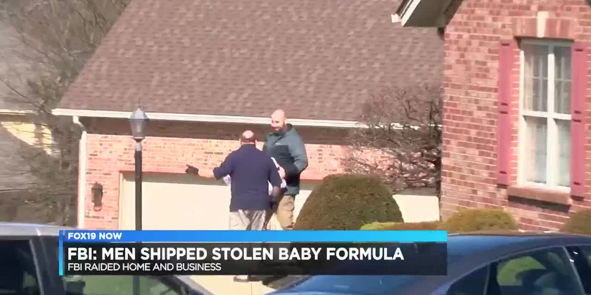 FBI: Men shipped stolen baby formula