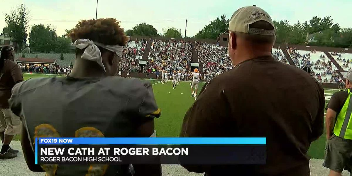 Coery Kiner carries Roger Bacon to win