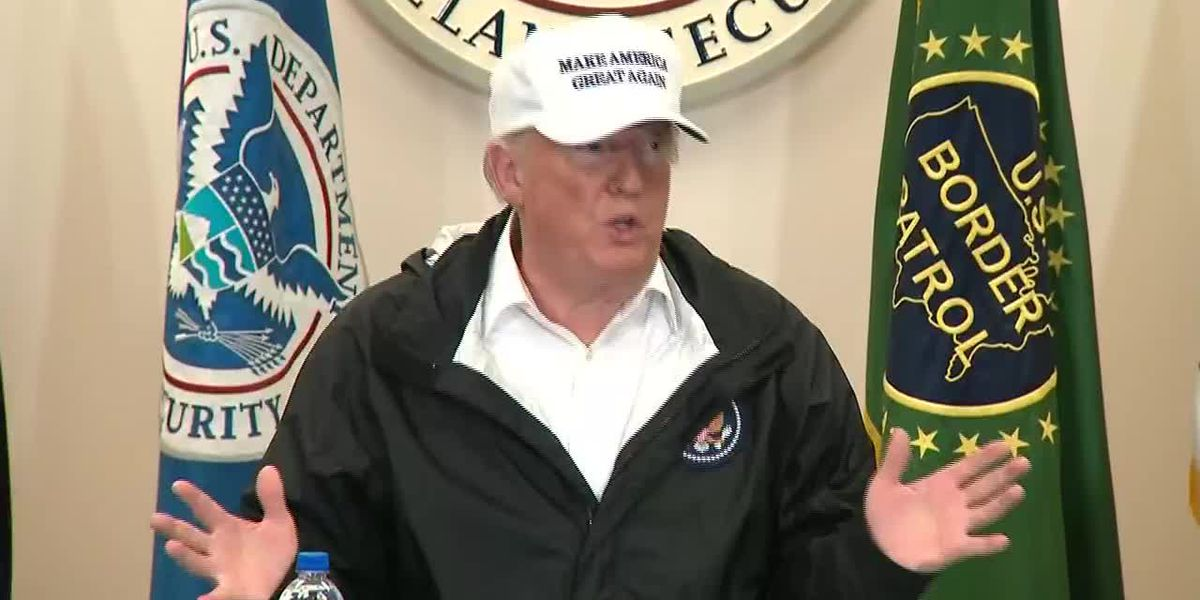 At border, Trump says 'we can declare a national emergency' over wall