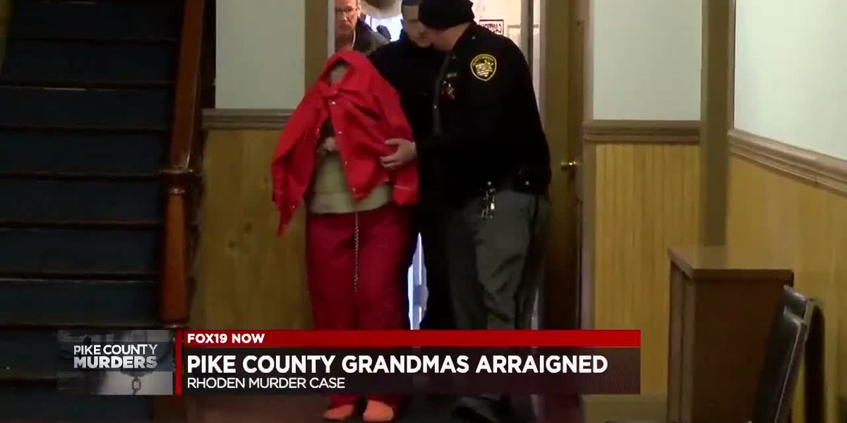 Pike County grandmothers arraigned