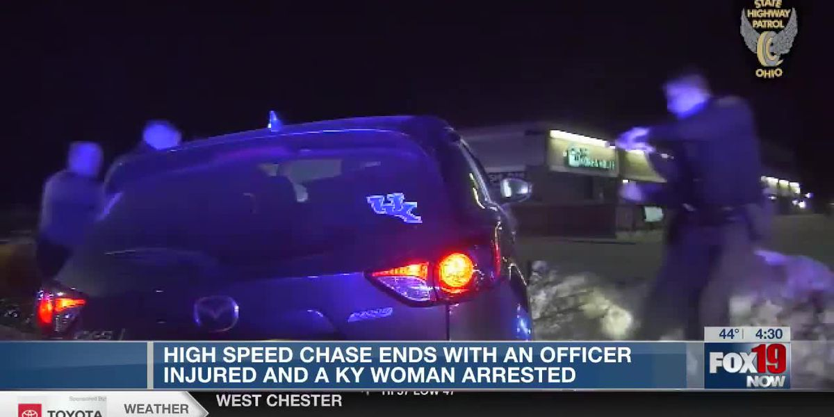 Fleeing driver runs over officer's foot, leads police on high-speed chase across Ohio River