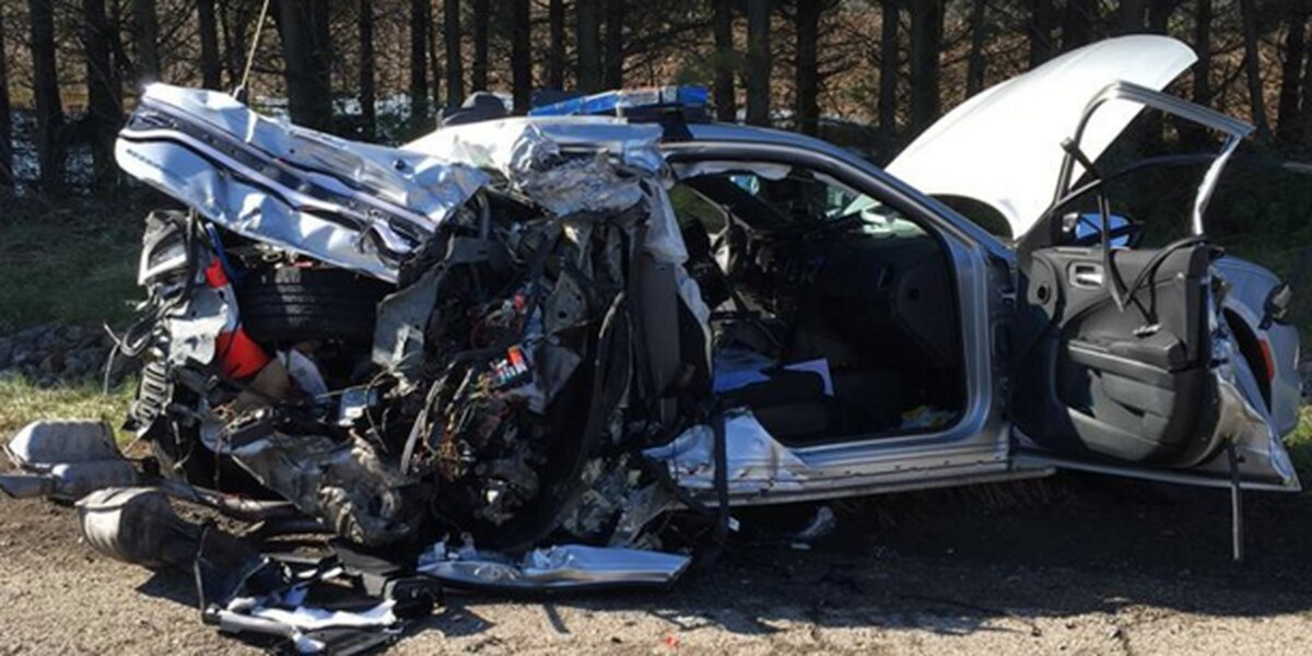 OSHP use crash image to remind drivers to watch out for emergency vehicles